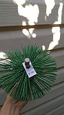 Ерш для чистки дымохода пластиковый под резьбу, фото 3