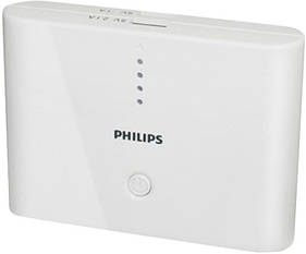 Портативный внешний аккумулятор PHILIPS USB CHARGER DLP 10400 mAh (Power Bank)