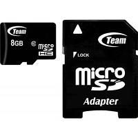 Карта памяти Team 8Gb microSDHC class 10 (TUSDH8GCL1003)