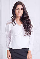 Женская блуза из вискозы рубашечной
