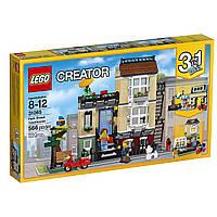 Конструктор Лего Домик в пригороде/LEGO 31065 Creator Park Street Townhouse Building Toy