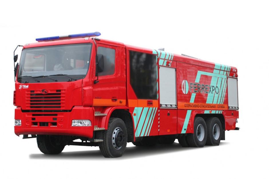 Аренда пожарной автоцистерны КрАЗ 6511Н4  - HYDROMARKET - Гидравлика на Cамосвалы и Cпецтехнику европейского качества в Киеве