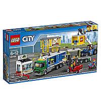 Конструктор Лего Сити Грузовой терминал/LEGO City Town Cargo Terminal Building Kit