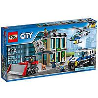 Конструктор Лего Сити Ограбление на бульдозере/Lego City Bulldozer Break