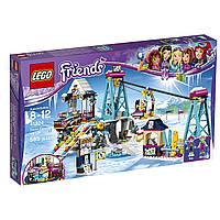 КонструкторЛего Горнолыжный курорт: подъёмник/LegoFriends Snow Resort Ski Lift Construction Toy41324