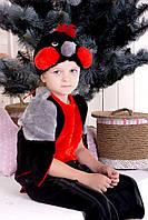 Новогодний карнавальный костюм Снегиря для мальчика