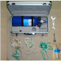 Ингалятор кислородный / баллон 4 л с маской носовыми канюлями