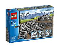 Набор Лего Сити Железнодорожные стрелки/LEGO City Trains Switch Tracks