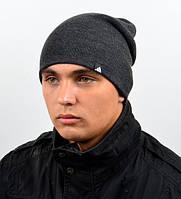 Молодежная шапка удлиненной модели