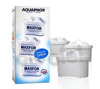 Фильтр для воды Аквафор B100-25 Maxfor - 3шт.