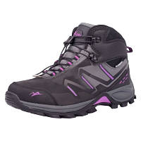 Ботинки зимние водонепроницаемые женские Alpine acfw-170307-black-grey-li