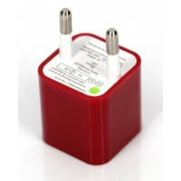 СЗУ USB iPhone (1000mA) red