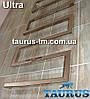 Высокий полотенцесушитель дизайнерский из нержавеющей стали  Ultra 8 / 500 мм. Высота 1400мм. Квадратные формы, фото 2