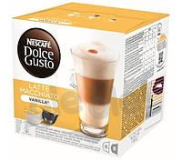 Кофе с молоком Nescafe Dolce Gusto Latte Macchiato Vanilla (8+8 шт.)