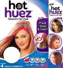Кольорова пудра (крейда) для волосся Hot Huez