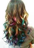 Кольорова пудра (крейда) для волосся Hot Huez, фото 3