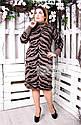 Платье теплое вязанное Тигрица (5цветов), фото 9