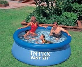 Семейный надувной бассейн Intex 28110 (56970) 244х76 см