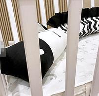 Защита в кроватку - дракончики и органайзер на спинку кроватки, фото 2