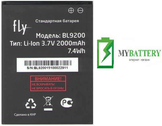 Оригинальный аккумулятор АКБ батарея Fly BL9200, FS504
