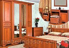 Спальня №1 Олеся (БМФ) орех италия