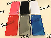 Силиконовый чехол Duotone для Sony Xperia M5 E5633 (6 цветов), фото 1
