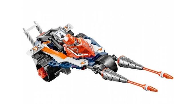 Конструктор Nexo Knights Турнирная машина Ланса Bela 10592