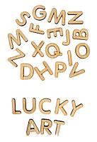 Алфавит деревянный на магнитах
