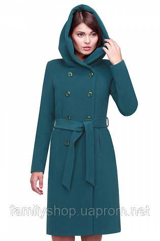 Женское кашемировое  пальто синего цвета   Nui Very (Нью вери) Мелина, фото 2