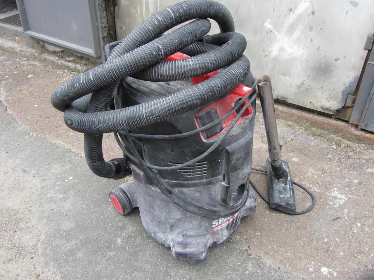 Промышленный пылесос строительный Sparky VC1530SA для сухой уборки