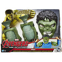 Avengers Hulk Role Play Set Супергерои Халк маска и мускулы набор