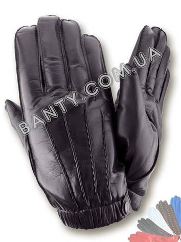 Перчатки мужские на подкладке модель 429-М, фото 2