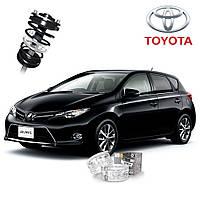 Автобаферы ТТС для Toyota Auris (2 штуки), фото 1