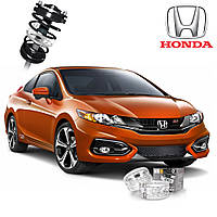 Автобаферы ТТС для Honda Civic (2 штуки), фото 1
