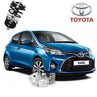 Автобаферы ТТС для Toyota Yaris (2 штуки), фото 1