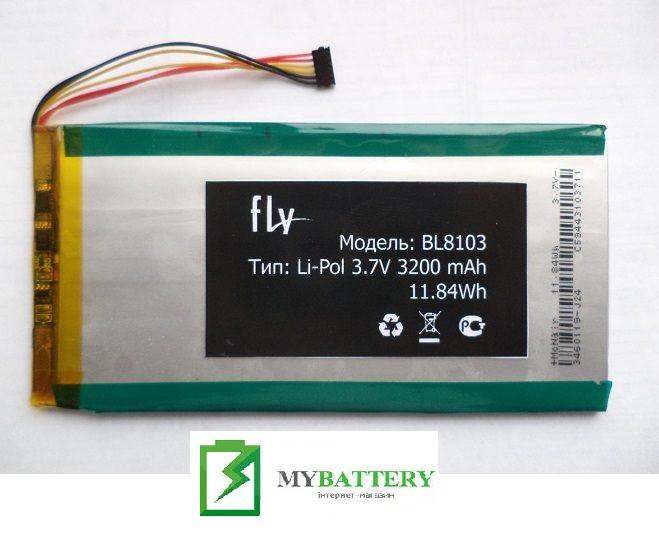 Оригинальный аккумулятор АКБ батарея Fly BL8103, FLYLIFE CONNECT 7 3G 2