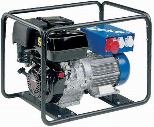 Бензиновый генератор трехфазный с электростартером GEKO 4400ED-A_HEBA