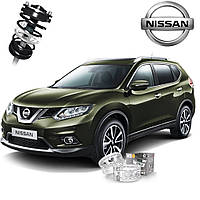 Автобаферы ТТС для Nissan X-Trail (2 штуки), фото 1