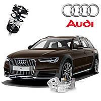 Автобаферы ТТС для Audi A6 (2 штуки)