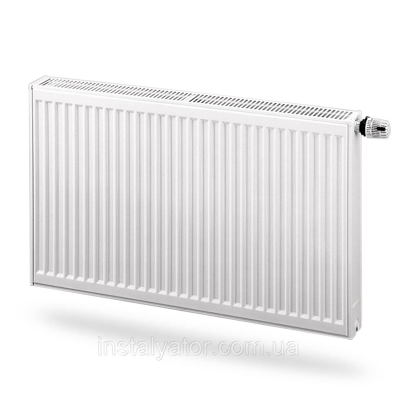 Радиатор стальной, панельный с нижним подключением PURMO Ventil Compact 11