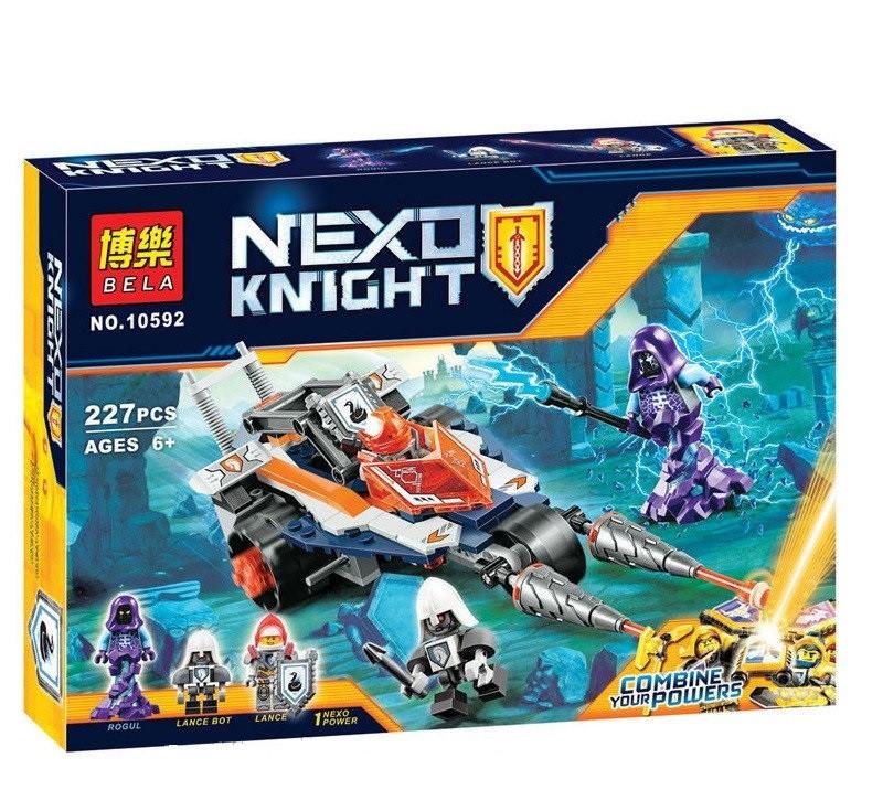 Конструктор Bela 10592 Nexo Knights Турнирная машина Ланса 227 деталей