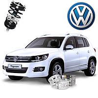 Автобаферы ТТС для Volkswagen Tiguan (2 штуки), фото 1