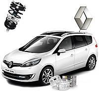 Автобаферы ТТС для Renault Grand Scenic (2 штуки)
