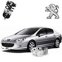 Автобаферы ТТС для Peugeot 407 (2 штуки)