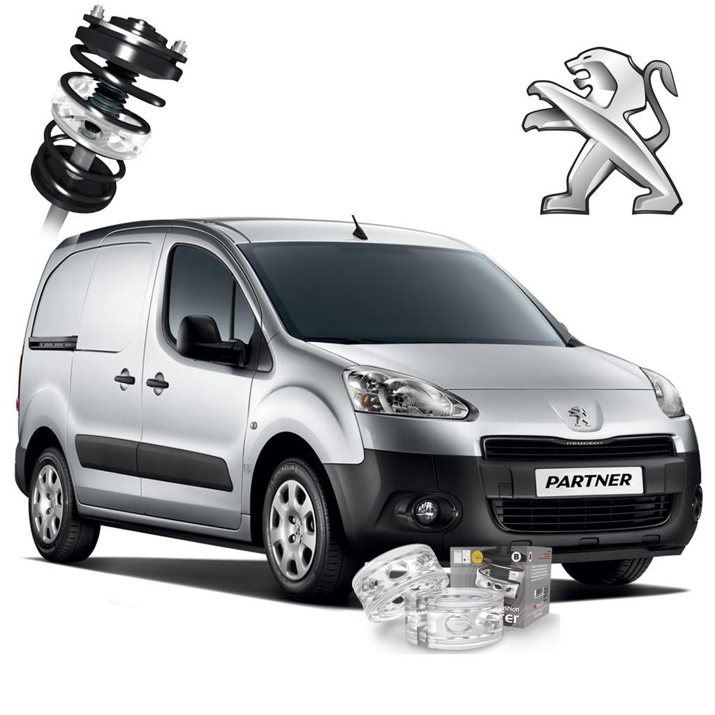Автобаферы ТТС для Peugeot Partner (2 штуки)