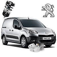 Автобаферы ТТС для Peugeot Partner (2 штуки), фото 1