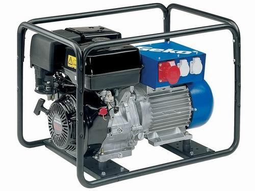 Бензиновый генератор трехфазный GEKO 6400ED-AA_HHBA