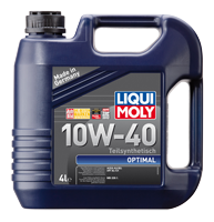 Масло моторное LIQUI MOLY SAE 10W-40 OPTIMAL 4L