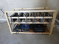 Майнинг ферма на 6 видеокарт GTX1060 3GB PALIT DUAL