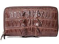 Клатч из кожи крокодила (ZAM 15 T Brown), фото 1